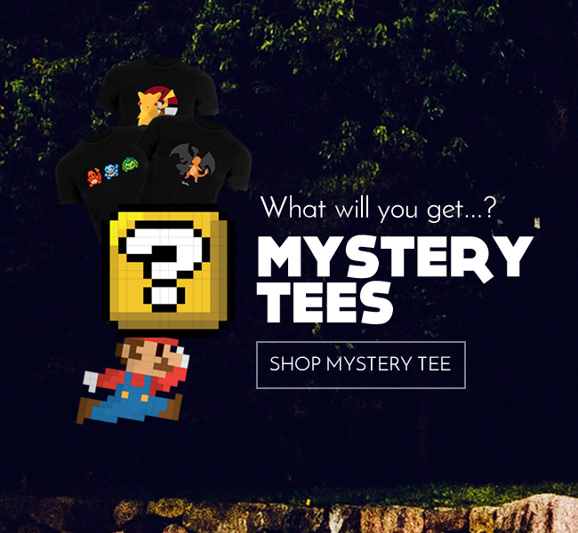 Mystery tees... what will you get?