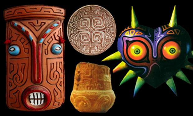 Zelda Majora's Mask - inspired by classic civilizations?