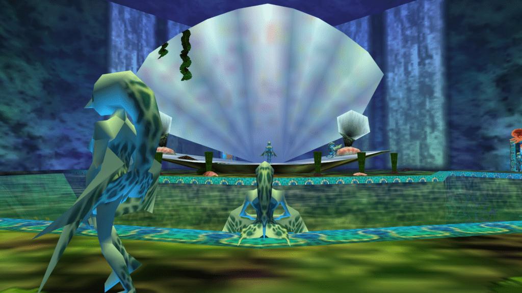 Zora's Domain in Zelda Majora's Mask