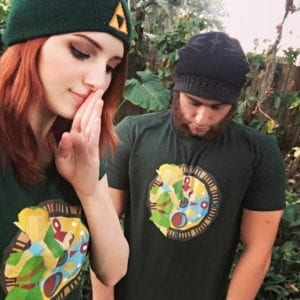 Legendary cosplayer @madi.kat becoming a hero with our Zelda inspired beanie and tee!