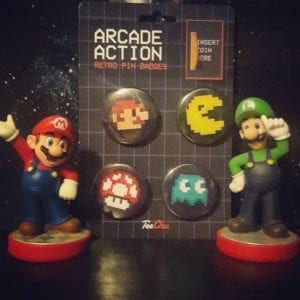 @trekkerprise had a great idea for displaying our Arcade Action retro pin badges!