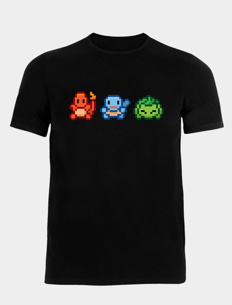 Catch those little Pokemon with our Triple Threat tee!
