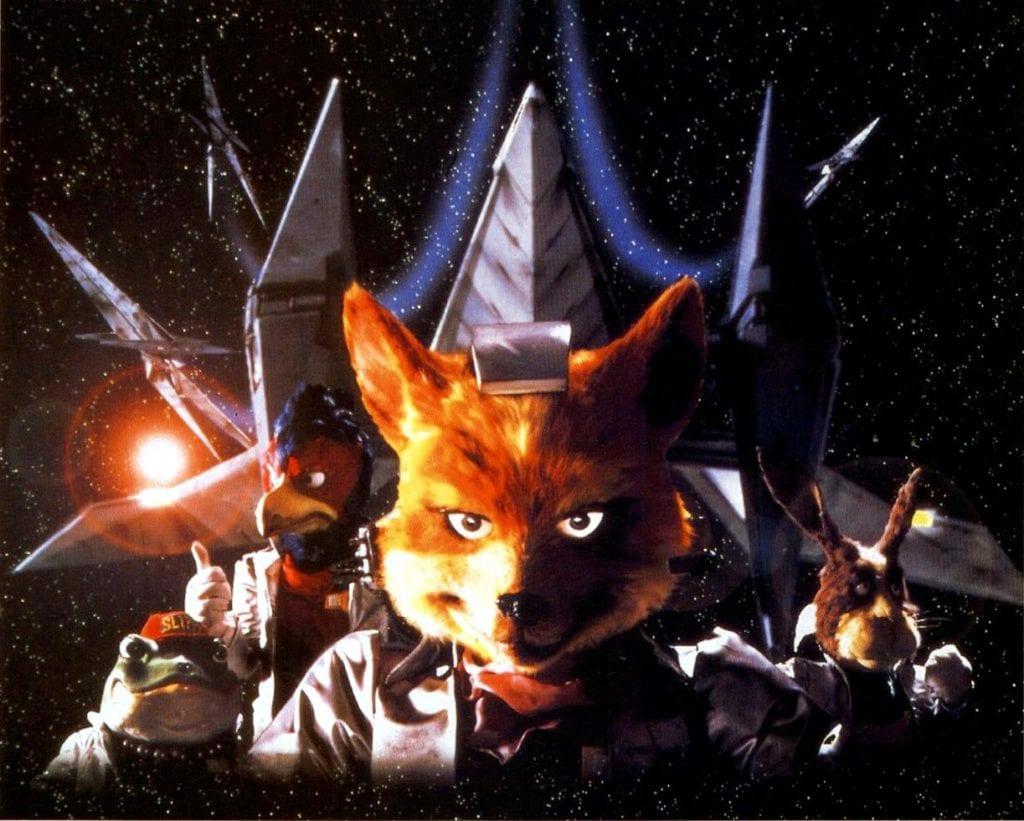 Star Fox history - original Star Fox artwork