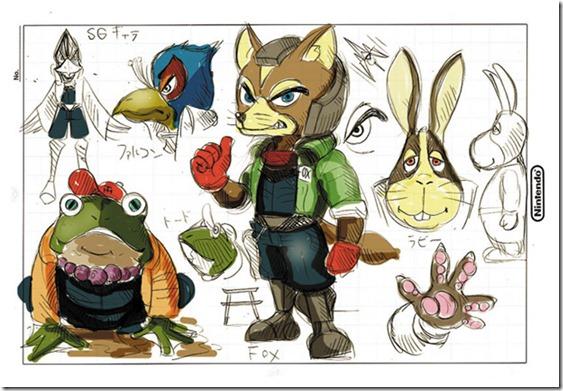 A little Nintendo sketch focusing on Star Fox history