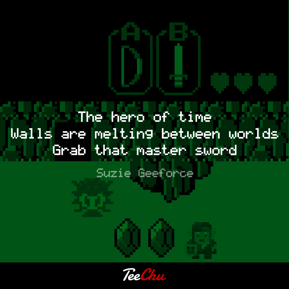 The hero of time rhyme? Our Zelda haiku