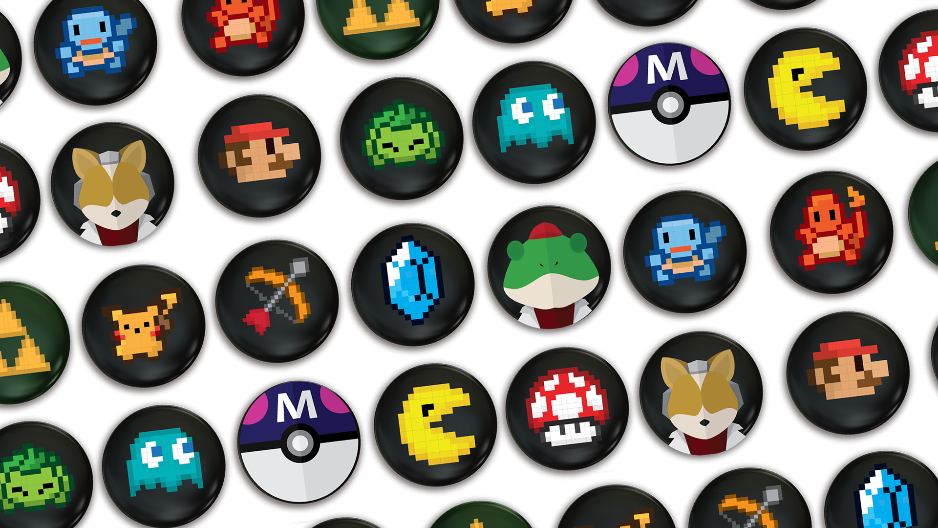 Introducing New Gaming Badges as the Perfect Retro Accessory