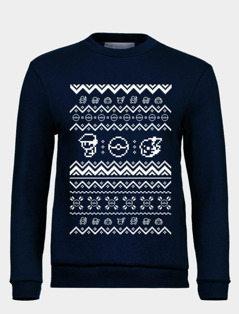 Ugly Pokemon Sweater? Feed a Pikachu this Christmas - TeeChu