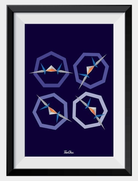 product-image-barrell-roll-art-print-framed