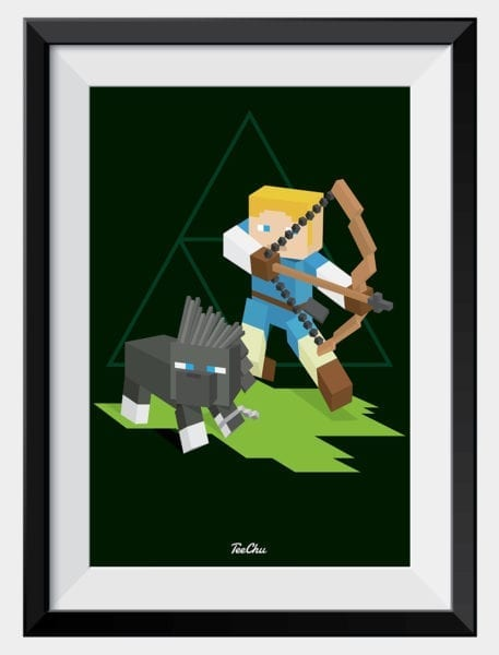 product-image-zelda-breath-of-the-wild-art-print-framed