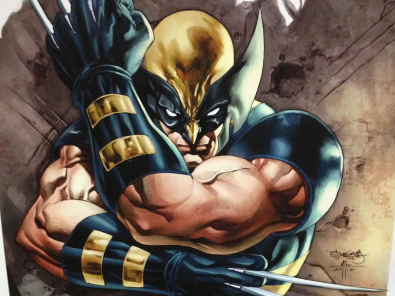 Wolverine can slash his way to victory. Truly one of the best Marvel heroes, period.