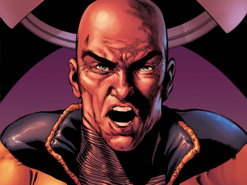He'll read your... read your... mind. Professor X