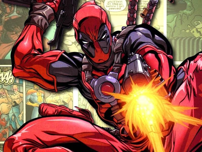 He'll shoot and swear. Deadpool