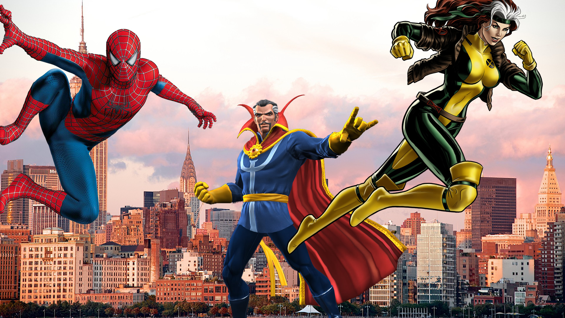 8 of The Best Marvel Heroes, from Spider-Man to Rogue