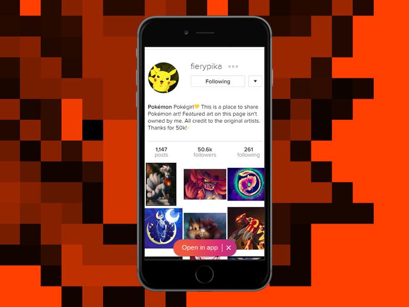 Zap zap zap it's fierypika, one of our top Pokemon Instagram accounts!