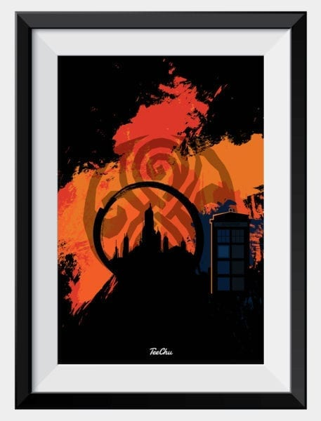 product-image-doctor-who-gallifrey-art-print-framed