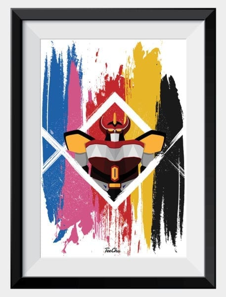 product-image-power-ranges-megazord-art-print-framed