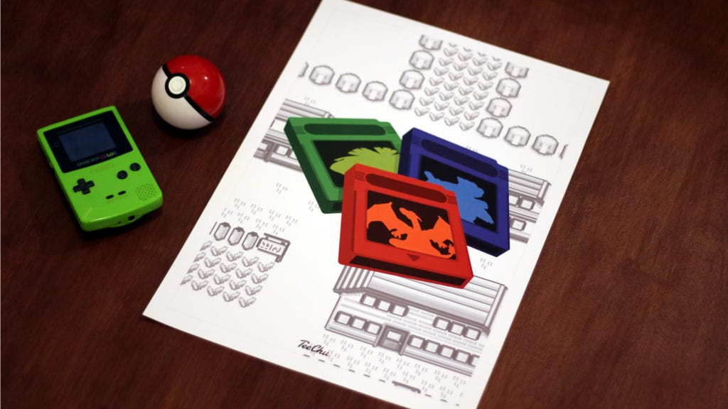 Behind the Print: Pokemon Cartridge Combo