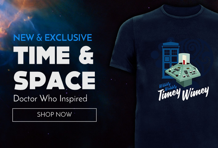 New Doctor Who inspired shirt - time and space awaits!