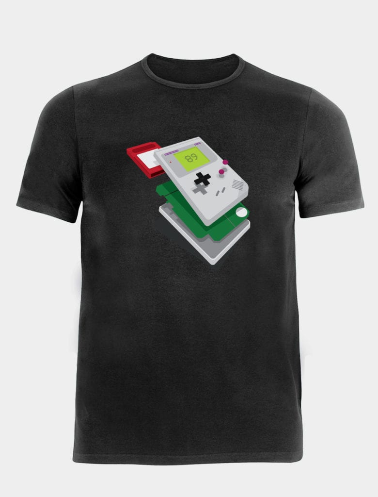 Childhood Deconstructed - Our Game Boy shirt
