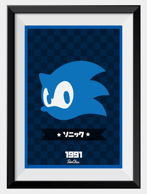 The Fastest Hedgehog Mini Print Sonic The Hedgehog Teechu