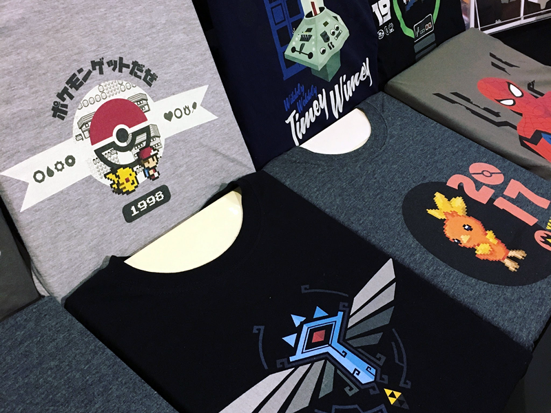 Team TeeChu's New Shirt Collection at Comic Con