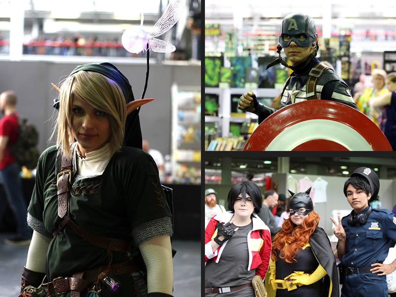 The wonderful cosplayers at Comic Con