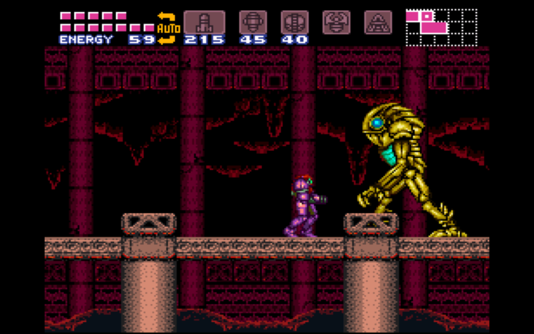 16 years later... a secret found in Super Metroid!