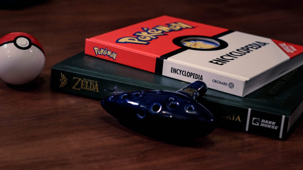 3 Essential Gaming Books from Zelda to Pokémon