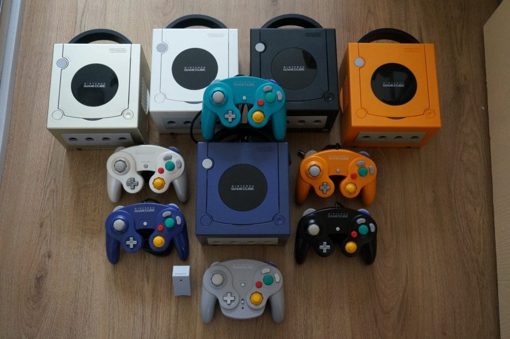 A whole heap of Nintendo GameCube!
