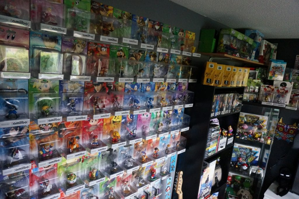 More amiibo on the shelves