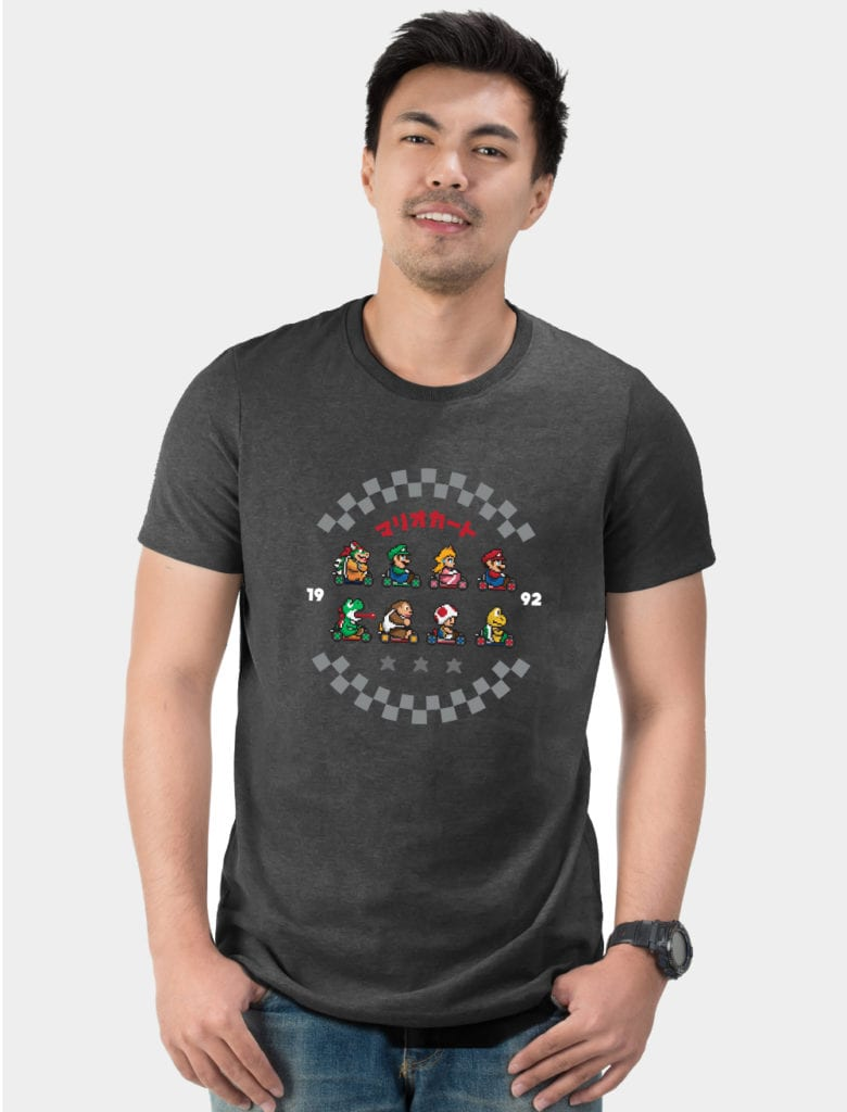 Mario Kart Pixel t-shirt retro