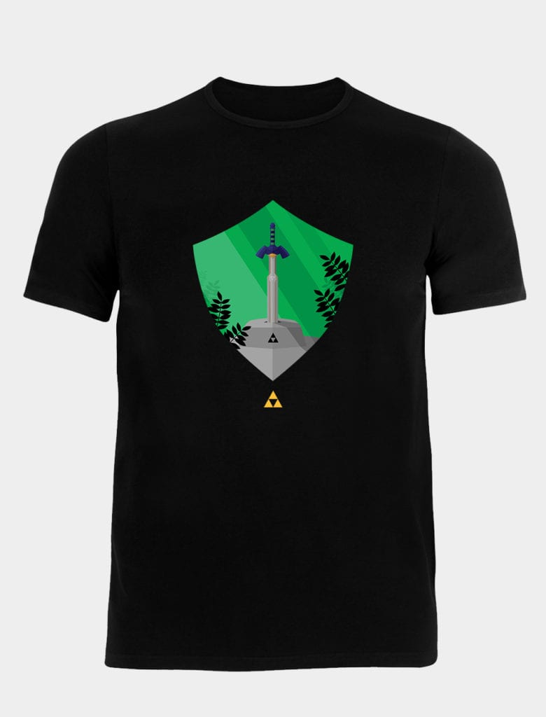 A Zelda t-shirt for any hero