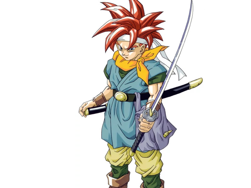 A powerful 16 bit hero, Crono!