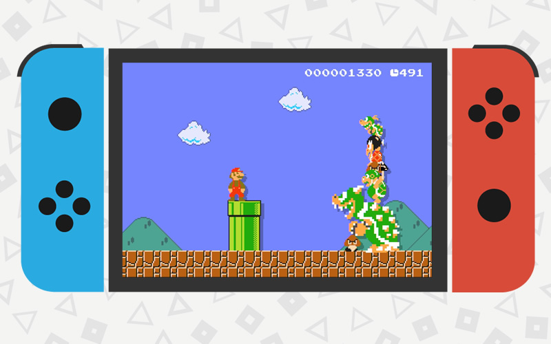 2D Mario games are a must for Switch