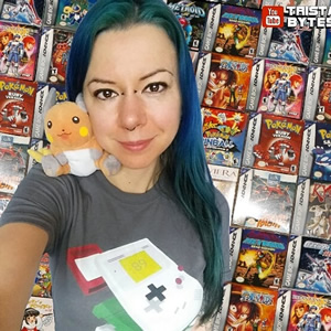 Geeky YouTuber @tristabytes has all the those vibes in her Childhood Deconstructed tee!