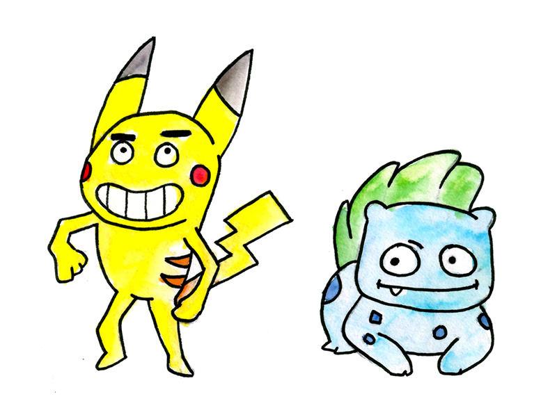 Reworking Pikachu in a CalArts style!