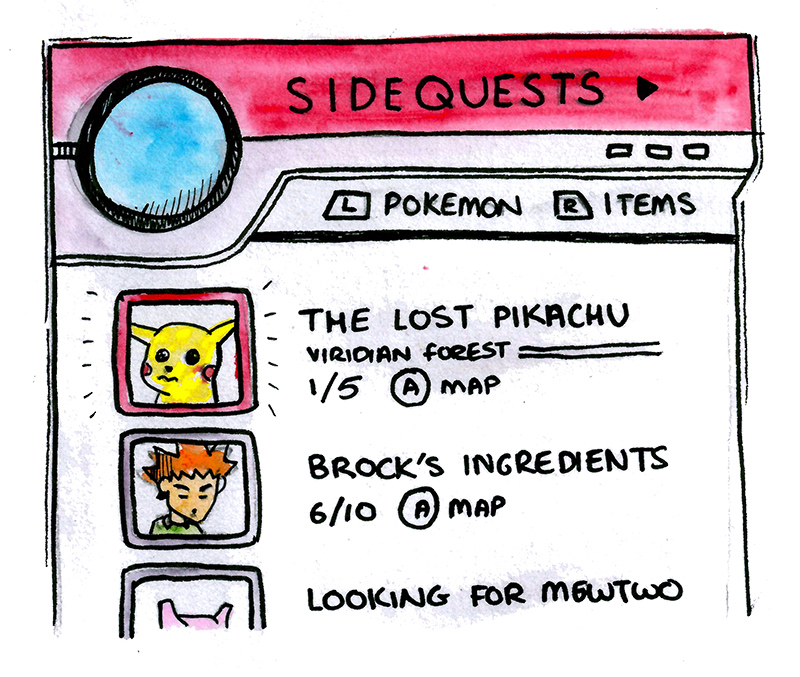 Could Pokemon Switch have sidequests?