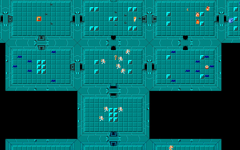 What's the name of the first dungeon in the original Legend of Zelda?