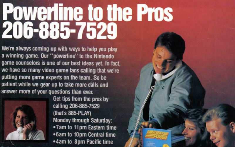 Powerline to the Pros - help from Nintendo Power!
