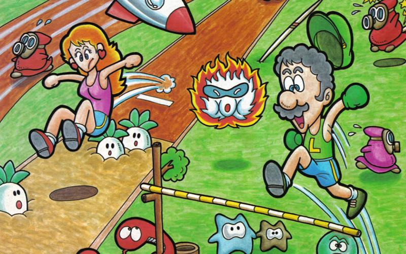 Peach, Luigi and Mario sports