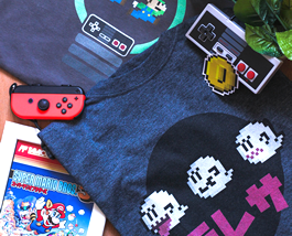 Geeky gaming shirts and tees