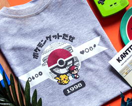 Pokemon shirts and prints - exclusive designs