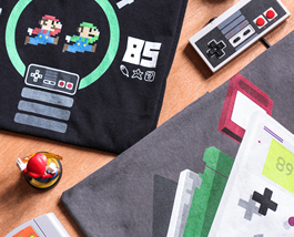 Geeky tees sale and gaming tees clearance