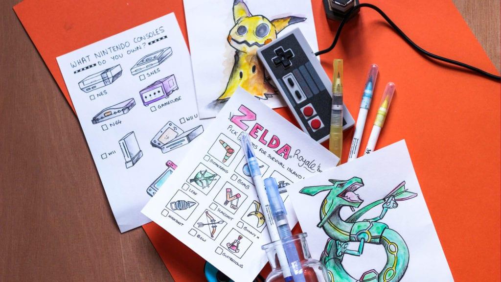 Using Water Brush Pens – A Watercolour Guide