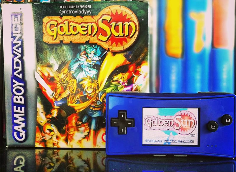 The iconic Golden Sun from @retrovladyyy