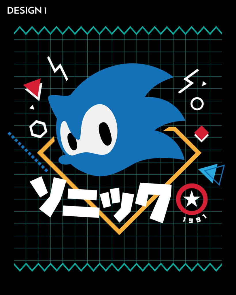 Vote For Your Favourite Sonic The Hedgehog T Shirt Teechu