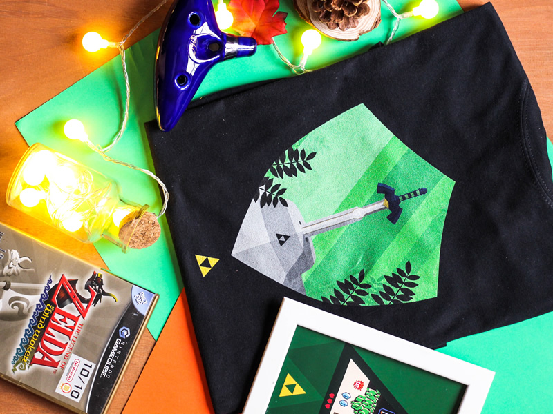 A hero needs a powerful unique Zelda tee!