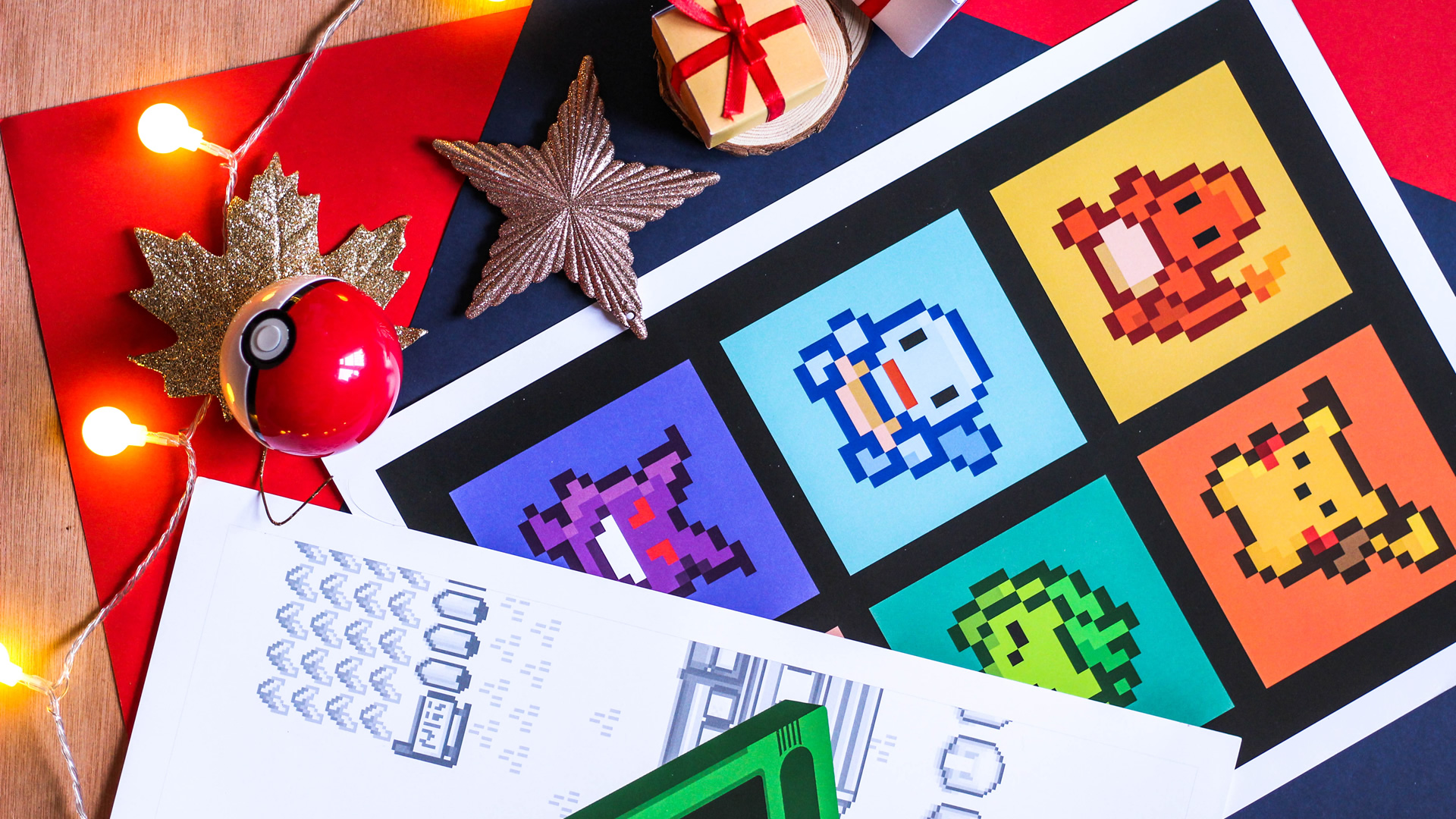 Geeky Gaming Prints for Christmas