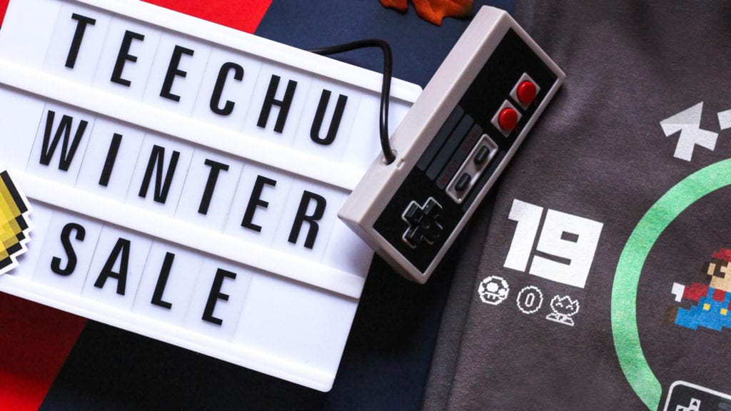 Must Have Geeky Tees in our Winter Sale