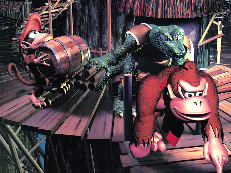 It's been a quarter of a century since DKC!